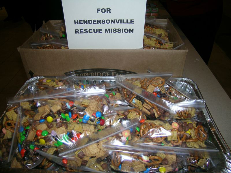Packages for Hendersonville Rescue Mission