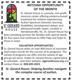 St Gerard House Feb 2017 Mitz Opp of the Month