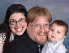 Rabbi Rachael Jackson family photo