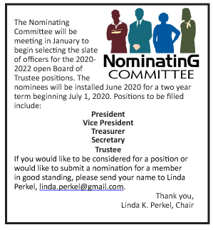 Nominating Committee Jan 2020